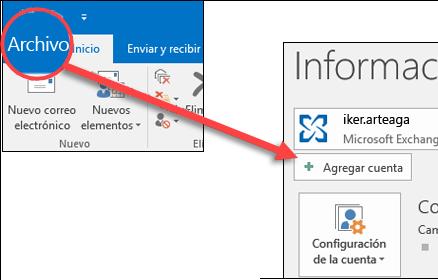 Configuración Email Asociativo