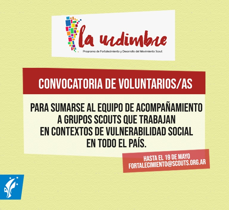 La Urdimbre: Convocatoria de Voluntarios