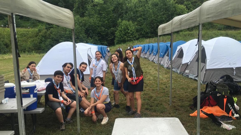 ¡La Delegación Argentina ya llegó al Summit Bechtel Reserve!
