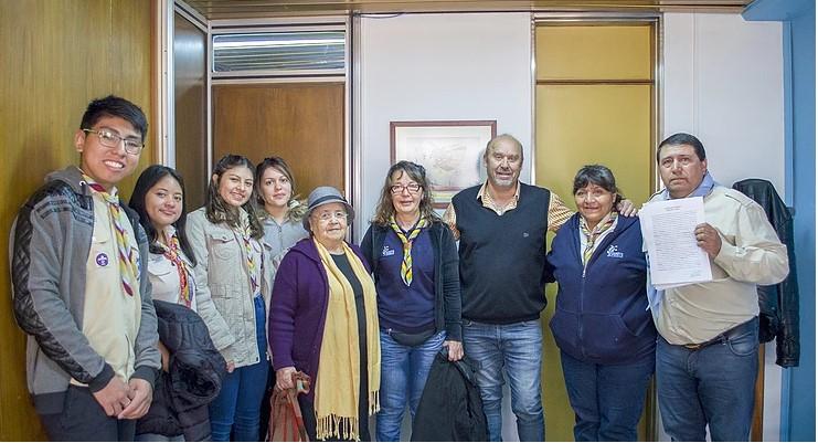 Grupo Scout de Villa Regina recibe un terreno cedido por el municipio
