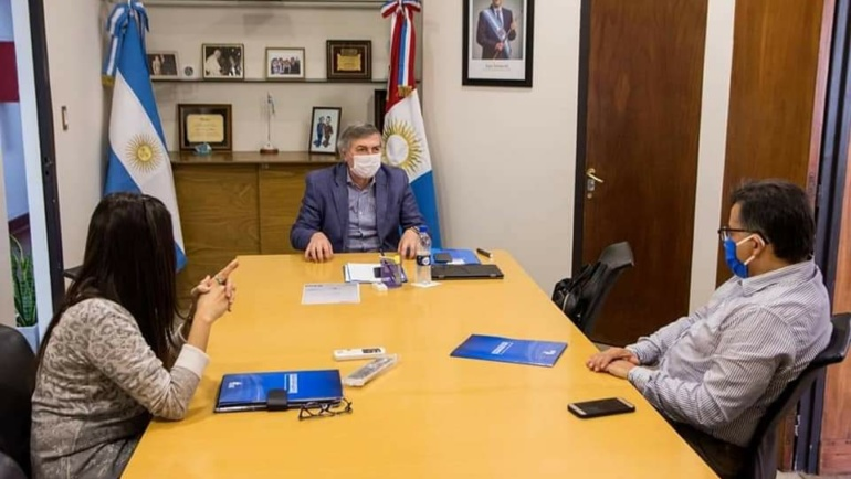 Marina Rustán se reunió con el Ministro de Desarrollo Social de la Provincia de Córdoba