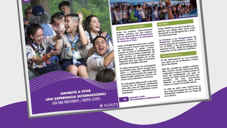 Soñá despierto: estas opciones Scouts Internacionales te esperan