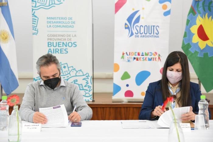 Convenio de cooperación con el Ministerio de Desarrollo de la Comunidad de la Provincia de Buenos Aires
